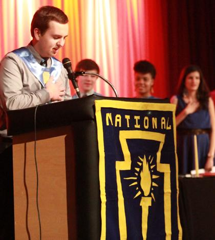 2-26 NHS Induction Ceremony [Photo Gallery]