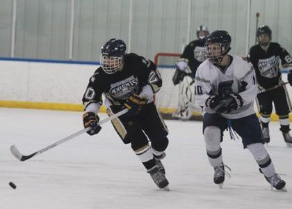 2-11 V Hockey Vs. Central [Photo Gallery]