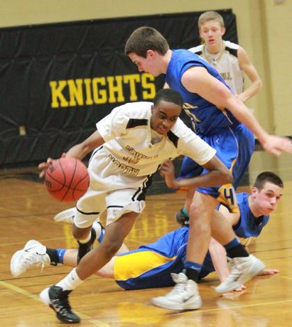 2-28 JV Boys Basketball vs. Troy