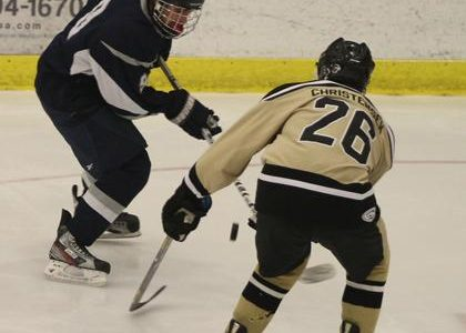 2-7 V Hockey Vs. Central [Photo Gallery]
