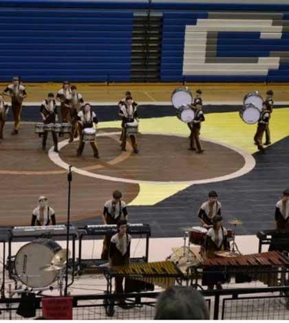 Drumline Competes in Indianapolis
