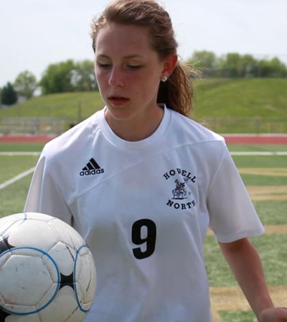Madison Vanek Travels to Greece for Soccer