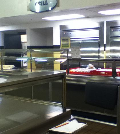 Inside the Lunchroom Kitchen