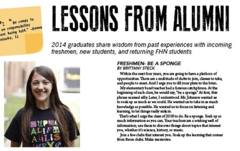 Lessons from Alumni