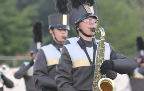 FHN Marching Band Performs FHSD Preview