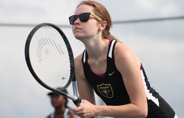 Girls Tennis Wins Big in First Match