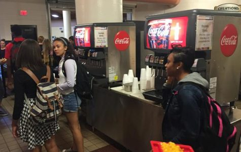 Soda Machines Introduced to the Commons