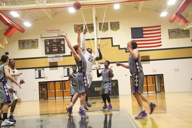 Varsity Boys Basketball Heads into Overtime With Parkway North