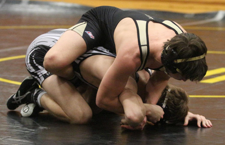 Wrestling Loses and Ties on Senior Night