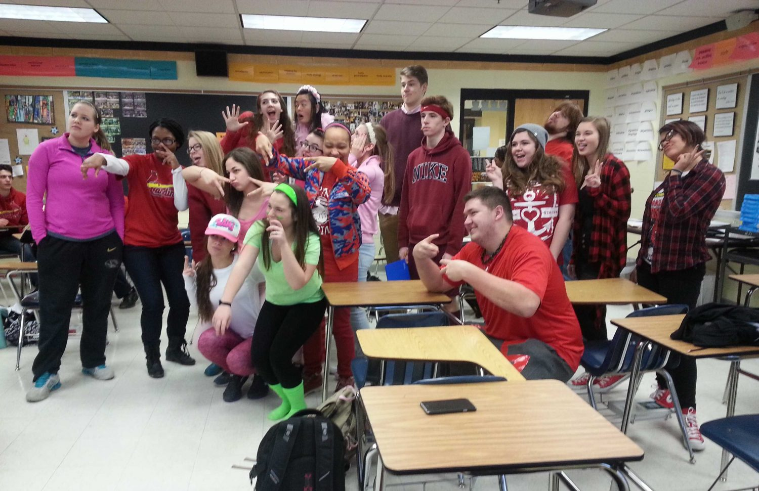 2-6 Class Colors Day [Photo Gallery]