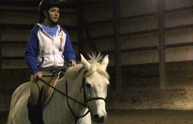 Olivia Stuertz Horseback Riding [Photo Story]