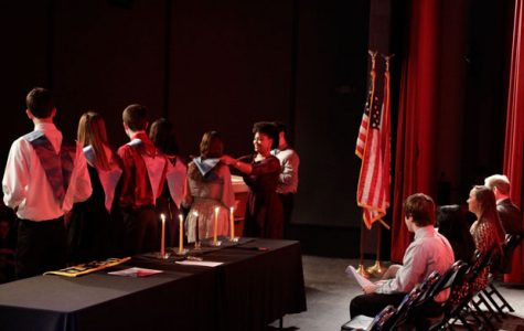 NHS Induction Allows Students to be Recognized