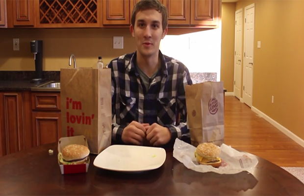 McDonalds Vs. Burger King Taste Test