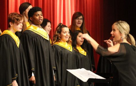 Choir Prepares for Competitions