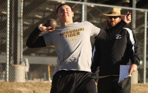 Trey Pettit Breaks School Shot Put Record