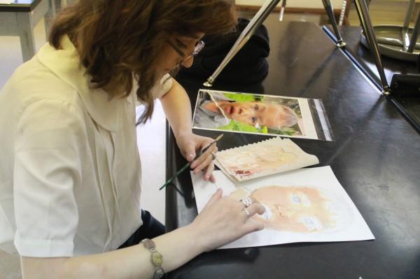 Art Club Draws for Cambodian Children