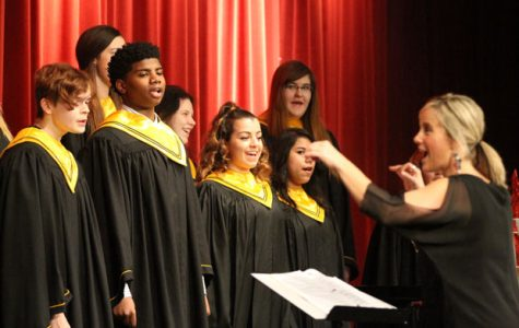 Choir Goes To State
