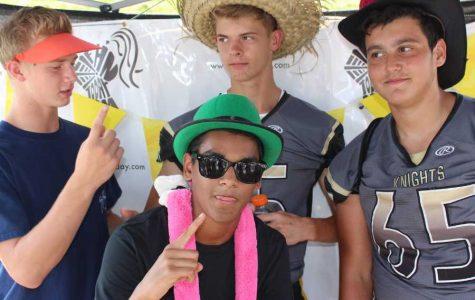 KOE Hosts Hat Day