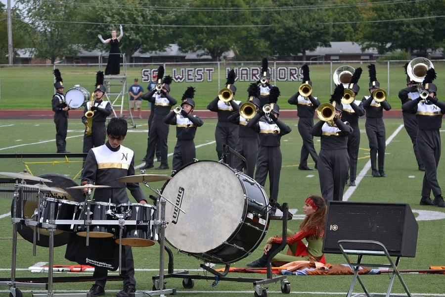 FHNKnightpride Performs at Bands Of America Competition