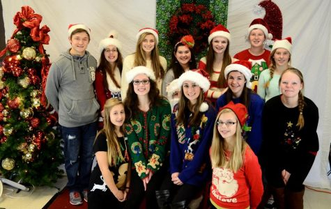 Band and Guard Students Hosts Annual Breakfast with Santa Fundraiser at Becky-David