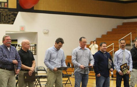 Wrestlers of Years Past Recognized at Induction Ceremony