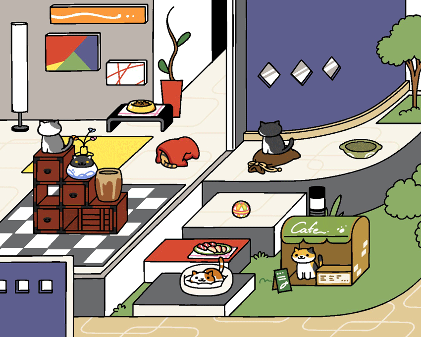 Students Take on Neko Atsume