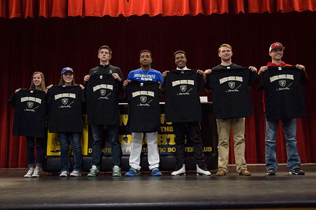 2-3 Senior College Signing Day [Photo Gallery]