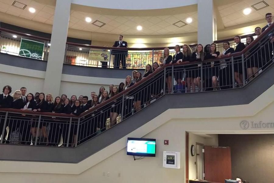 HOSA Competes at State Conference, Multiple Students Place in Competition