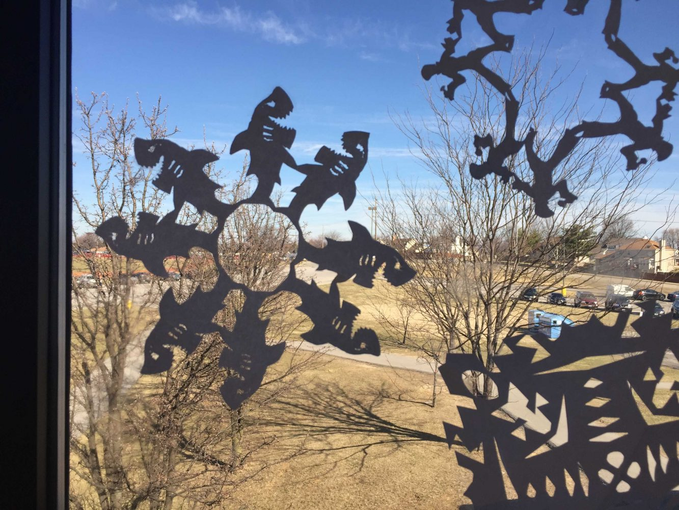 Wilkens' Snowflake Competition Gives Students a Break