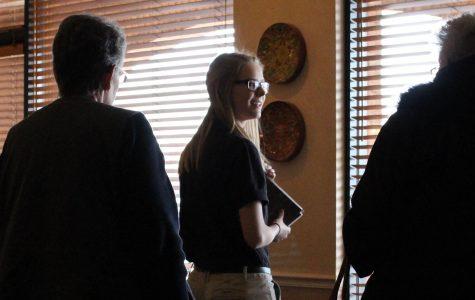 Ashley McIlroy Leaves School for Work Program [Photo Story]