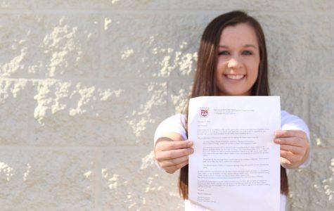 Senior Madison Ritter Auditions for Loyola University
