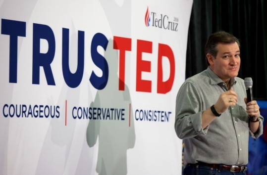 All of the Talk from Ted Cruz about Loving the Constitution is just that, Empty Talk