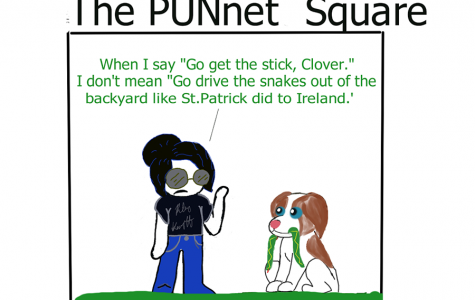 St. Patrick's Day Punnet Square [Comic]