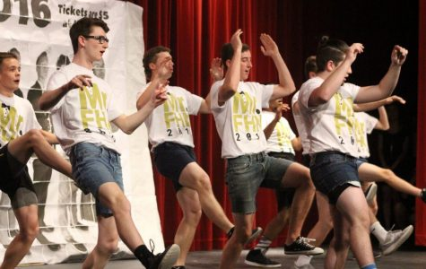 FHN Boys Compete in Student Council's Annual Mr. FHN Competition