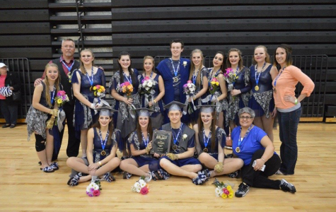 FHN's Winterguard Ends Season with World Competition