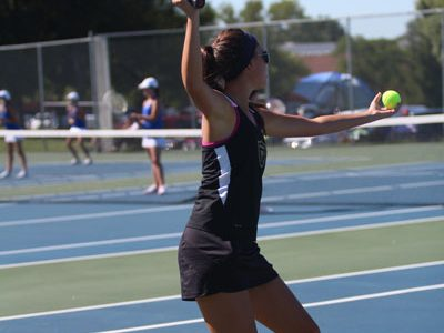 Lady Knights Girls Tennis Battles The Vikings On 8/22