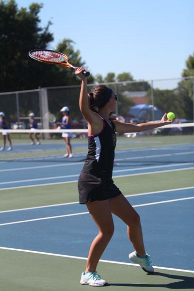 Lady Knights Girls Tennis Battles The Vikings On 8/22