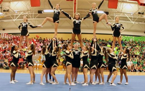 HC Pep Assembly 2016 – Varsity Cheer Performance [Video]