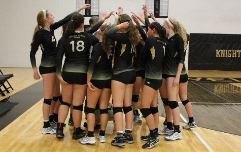 Girls Volleyball Faces Lutheran St. Charles Tournament