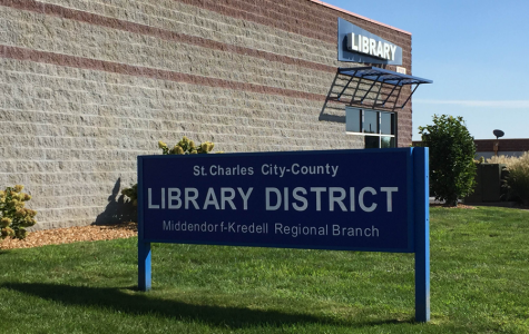 Middendorf-Kredell library is one of many libraries NHS members can volunteer at in the St. Charles Library District.