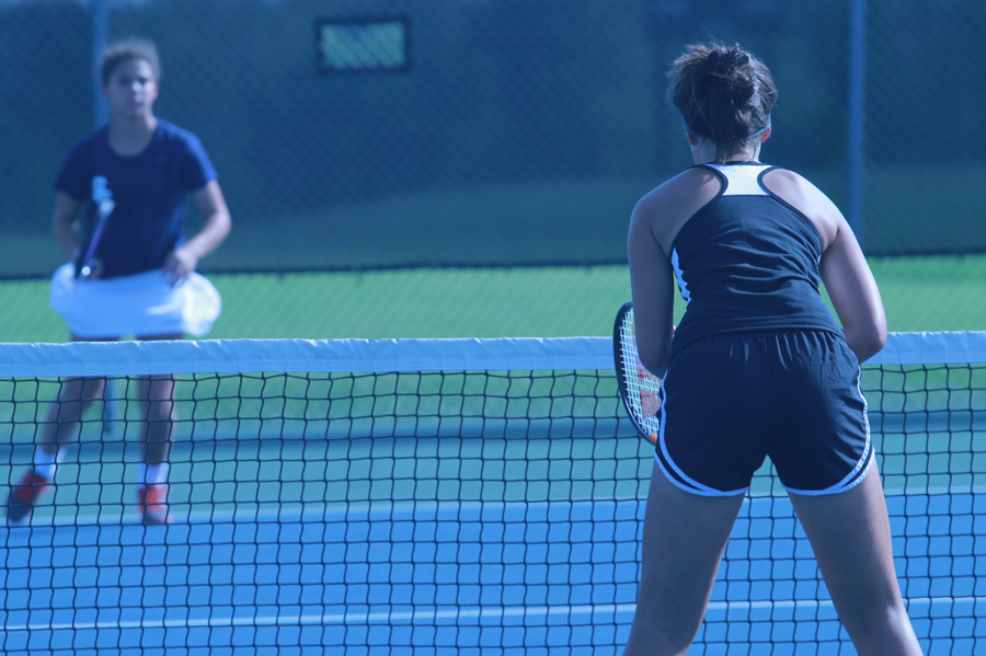 Girls Varsity Tennis Plays in GACs