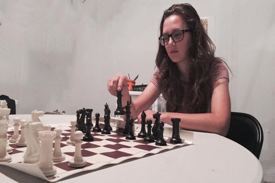 Madeline DeGraw was a Chess Apprentice Under Grandmaster Ben Finegold