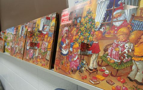 German Club sells advent calendars every year to fund club activities and to spread holiday cheer. Advent calendars are used to celebrate the holidays one day at a time.