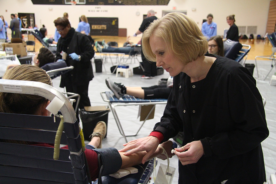 HOSA Hosts Largest High School Blood Drive in St. Louis