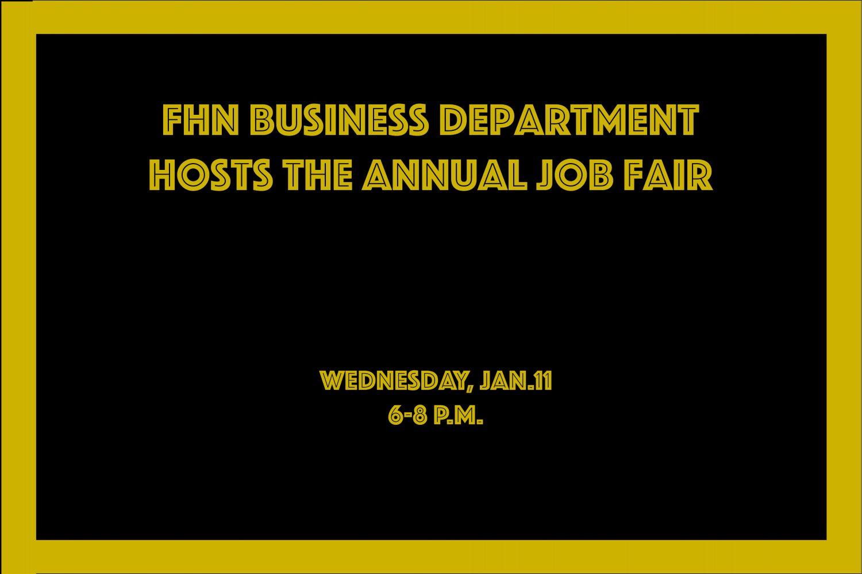 FHN Business Department Hosts Annual Job Fair