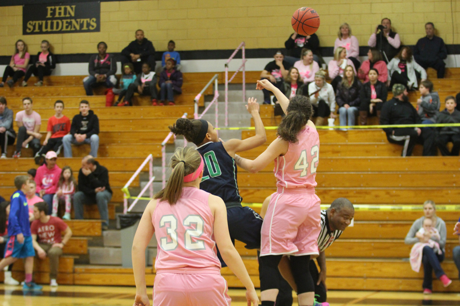 Girls' Basketball Pink Ribbon Game Preview