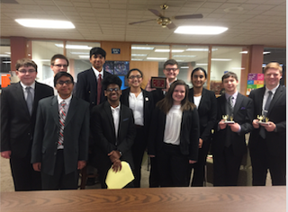 Speech and Debate Team Heads to Districts on March 3 and 4