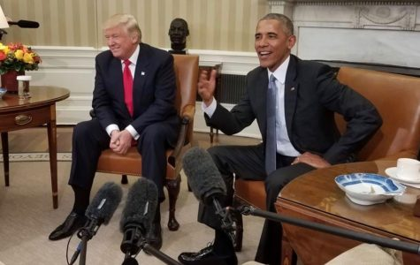 Former President Barack Obama hosts a meeting with President Donald Trump at the White House in November 2016. (photo used under Creative Commons license)