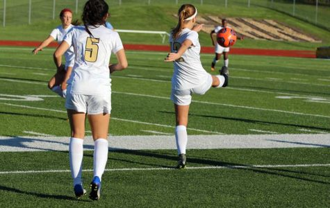 Girls' Soccer Looks to the End of the Season