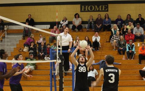 4/4 Varsity Boys Volleyball vs. St. Dominic [Photo Gallery]
